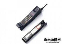 手机发展二十年中各种手