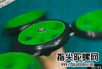 霸气的指尖陀螺花式玩法