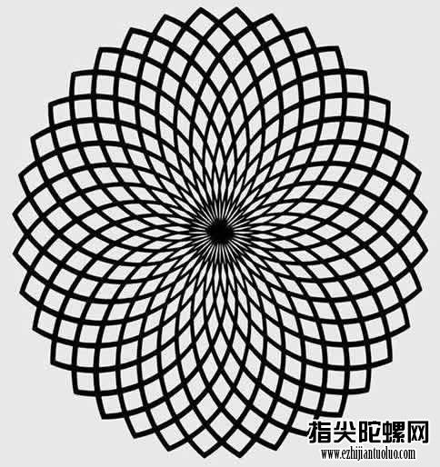 黑林错觉:黑林错觉图片,视觉方面的错觉