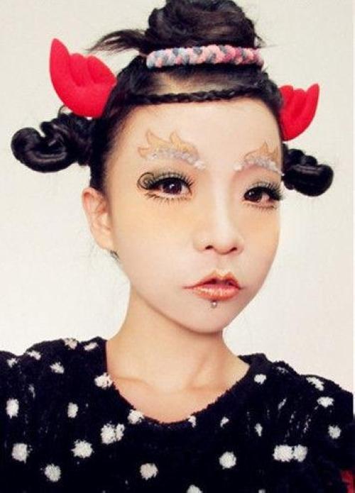 湖南卫视美妆节目红人茉莉